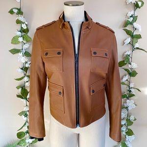 Rag & Bone Genuine Leather Utility Jacket